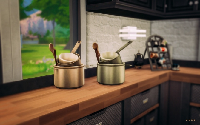 COOKING SUPPLIES RECOLOURS at Alachie & Brick Sims image 1226 Sims 4 Updates