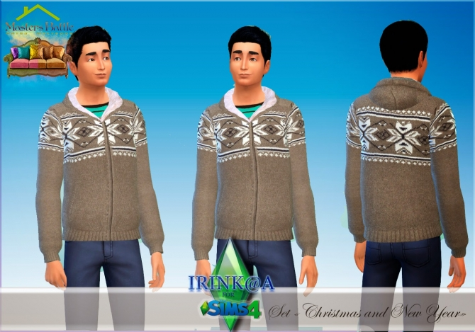 Christmas and New Year sweaters at Irink@a image 123 Sims 4 Updates