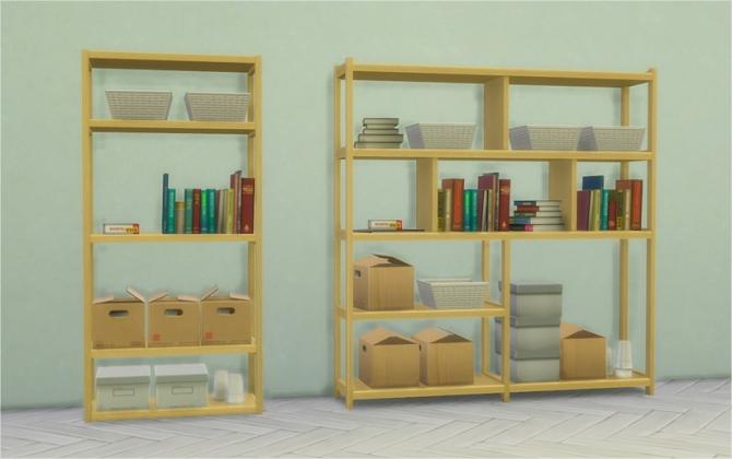 Sims 4 Dorm Bookshelves at Veranka
