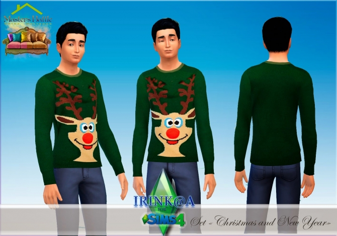 Christmas and New Year sweaters at Irink@a image 124 Sims 4 Updates