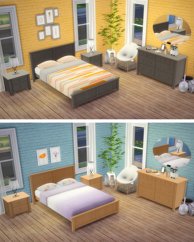 Mel's Bedroom at Saudade Sims image 12414 Sims 4 Updates