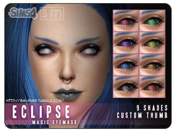 Sims 4 Eclipse Magic Eye Mask by Screaming Mustard at TSR