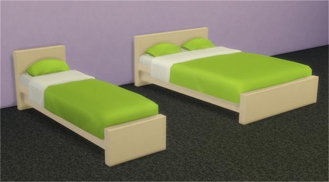 Sims 4 IKEA MALM Bedroom at Veranka