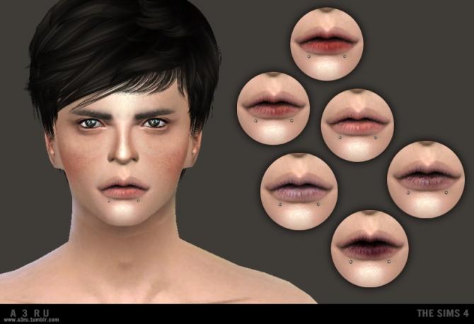 Sims 4 Lips Q01 at A3RU
