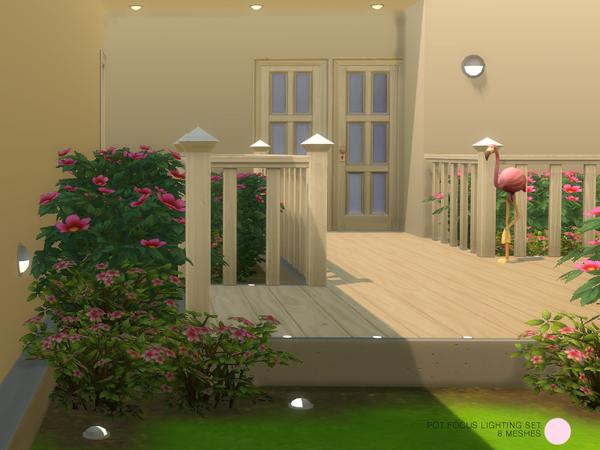 Pot Focus Lighting Set by DOT at TSR image 1294 Sims 4 Updates