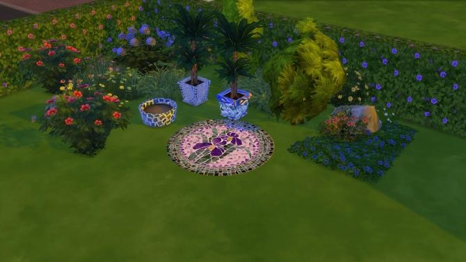Tiles and mosaics set at El Taller de Mane image 1326 Sims 4 Updates