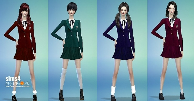 School Uniforms At Marigold Sims 4 Updates