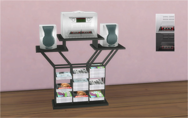 Sims 4 Fun Kadelic Frequency Stereo System 2t4 at Veranka