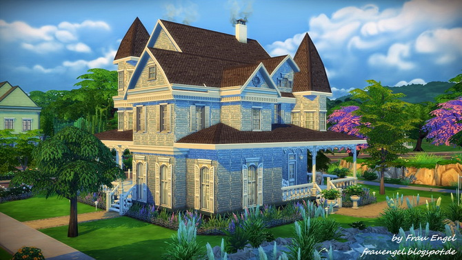 Marshmallow Miracle house by Julia Engel at Frau Engel image 13712 Sims 4 Updates