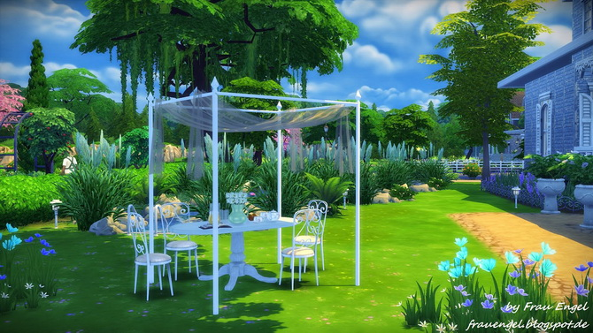 Marshmallow Miracle house by Julia Engel at Frau Engel image 13912 Sims 4 Updates