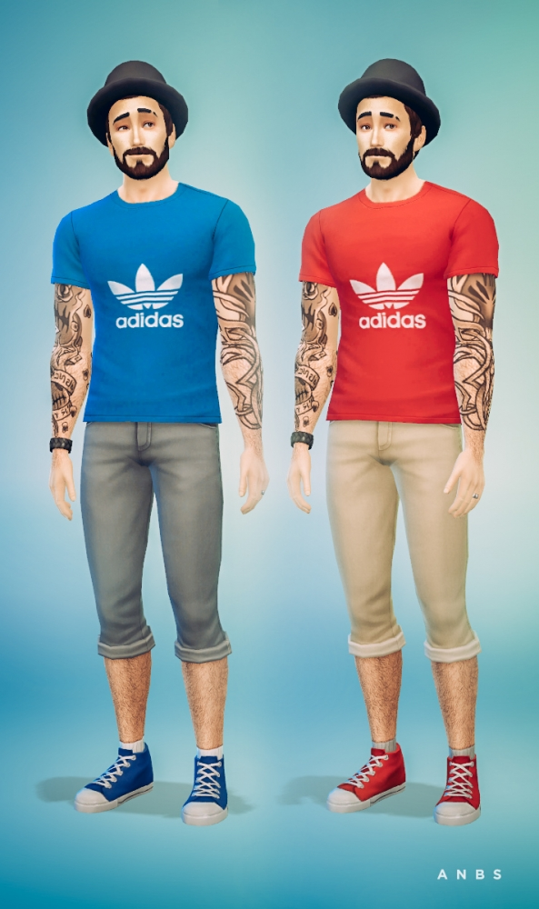 Sims 4 Sport t shirt at Alachie & Brick Sims