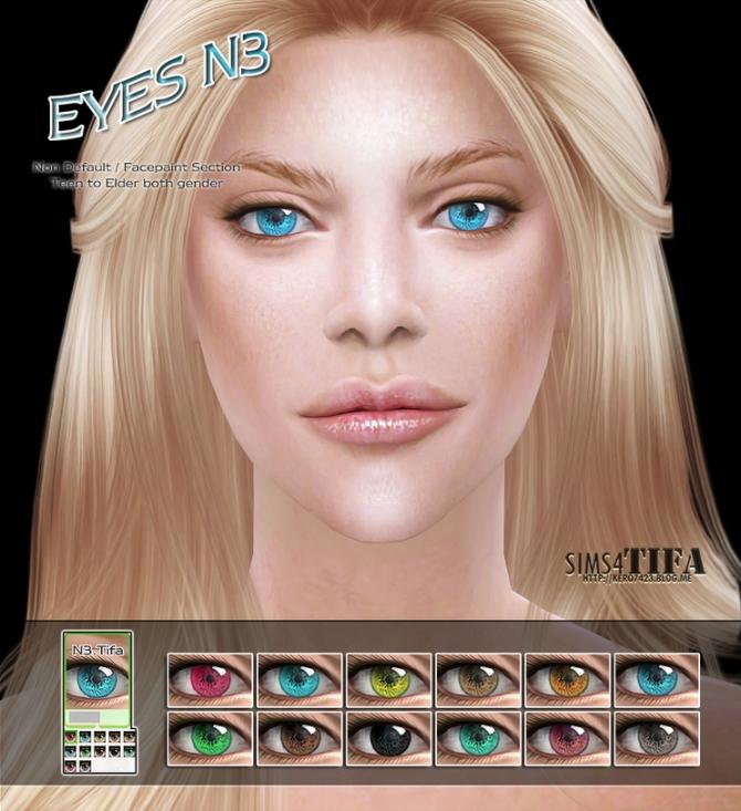 Sims 4 Eyes N3 at Tifa Sims