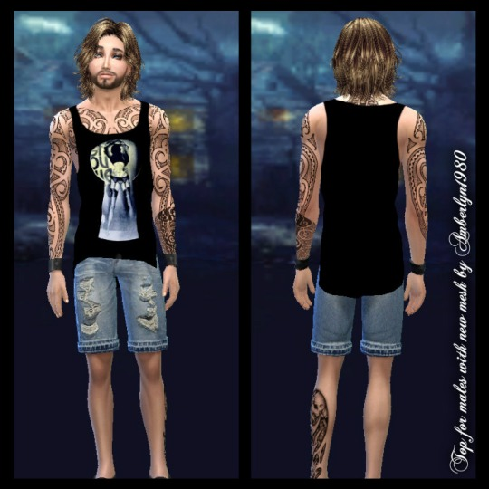 Sims 4 Tops for males at Amberlyn Designs