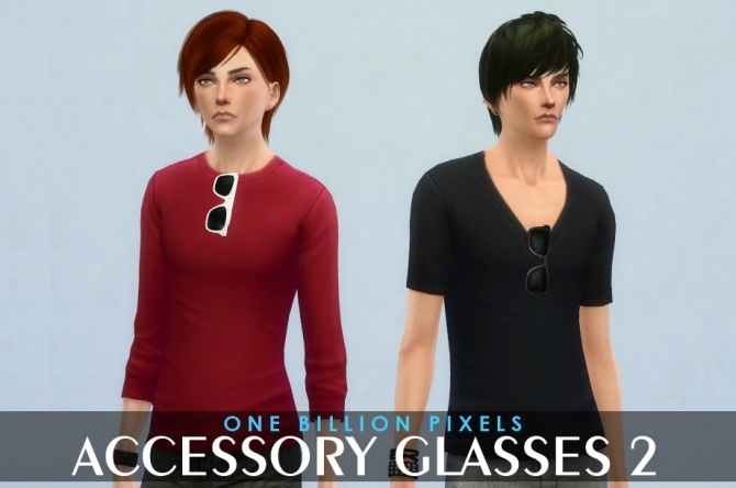 Accessory Glasses 2 at One Billion Pixels image 1401 Sims 4 Updates
