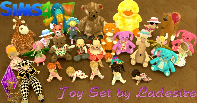 Toy Set at Ladesire image 1408 Sims 4 Updates