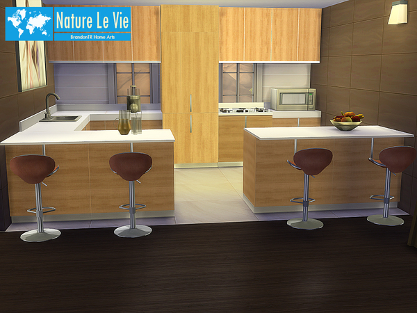 Sims 4 Nature Le Vie house by BrandonTR at TSR