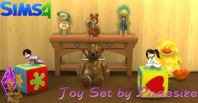 Toy Set at Ladesire image 14112 Sims 4 Updates