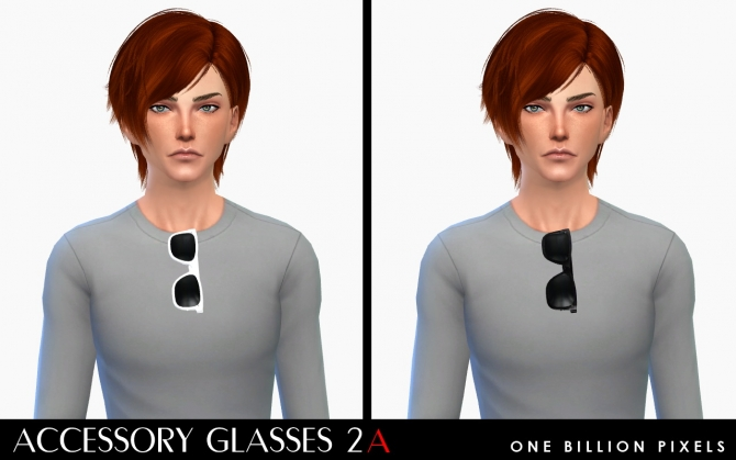Accessory Glasses 2 at One Billion Pixels image 1412 Sims 4 Updates