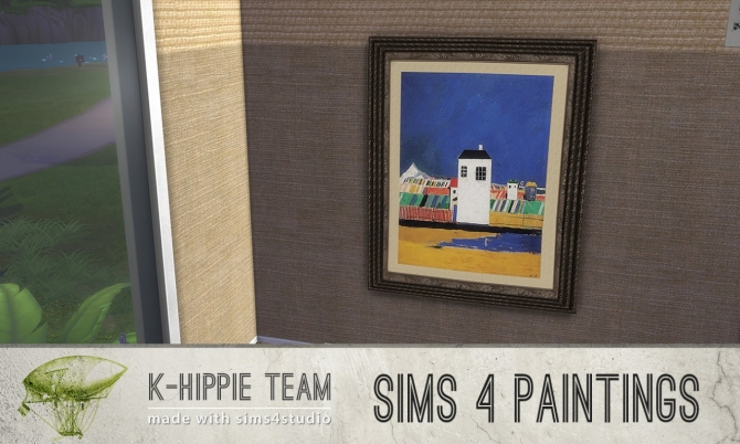 Sims 4 Classika Paintings Vol.1 at K hippie