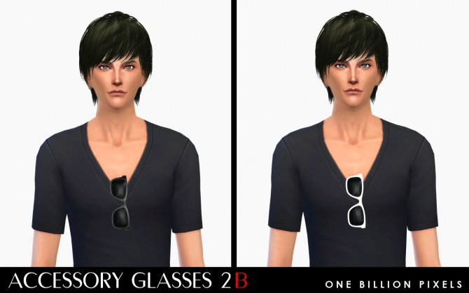 Accessory Glasses 2 at One Billion Pixels image 1421 Sims 4 Updates