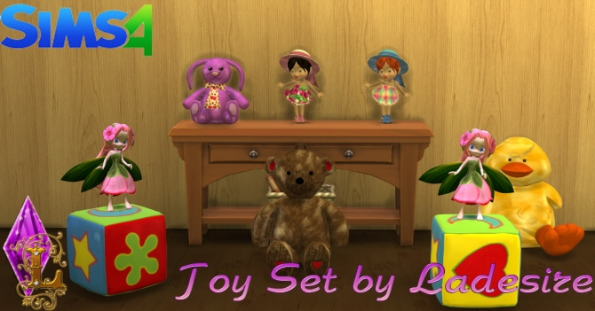 Toy Set at Ladesire image 14210 Sims 4 Updates