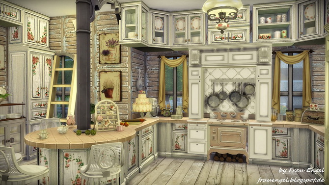 Marshmallow Miracle house by Julia Engel at Frau Engel image 14215 Sims 4 Updates