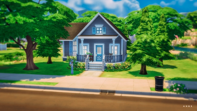 Sims 4 PINE COTTAGE at Alachie & Brick Sims