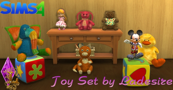 Toy Set at Ladesire image 1438 Sims 4 Updates