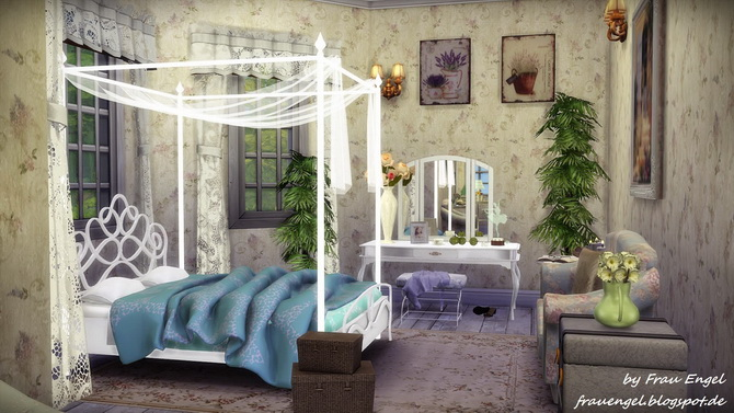 Marshmallow Miracle house by Julia Engel at Frau Engel image 14512 Sims 4 Updates