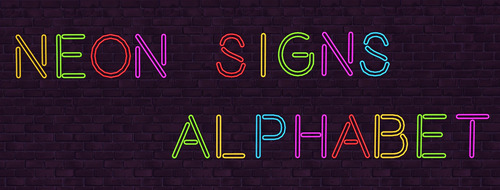 Alphabet Neon Signs at NotEgain image 1453 Sims 4 Updates