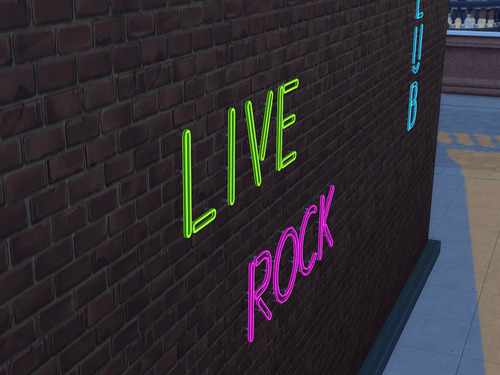 Alphabet Neon Signs at NotEgain image 14731 Sims 4 Updates