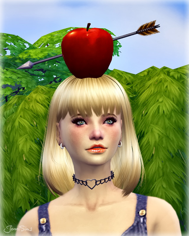 Sims 4 Wilhelm Tell Apple at Jenni Sims