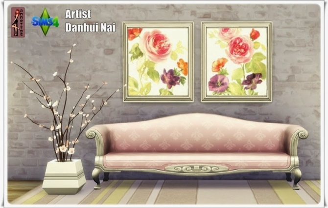 Sims 4 Flowers pictures at Annett's Sims 4 Welt