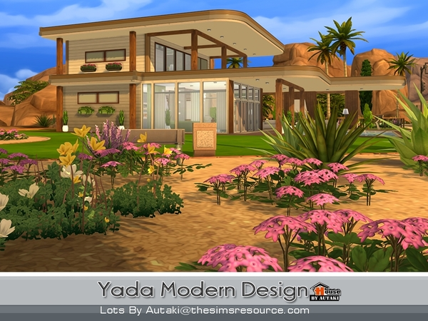 Yada Modern Design house by autaki at TSR image 15106 Sims 4 Updates