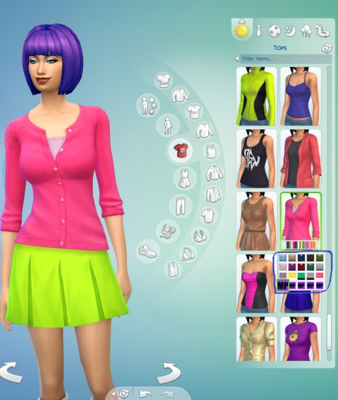 5 Recoloured Cardigans for Females by wendy35pearly at Mod The Sims image 1525 Sims 4 Updates