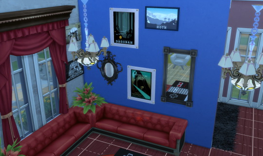 Sims 4 Star Wars paintings set at Skorpiusss4