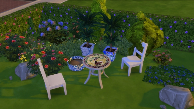 Tiles and mosaics set at El Taller de Mane image 1528 Sims 4 Updates