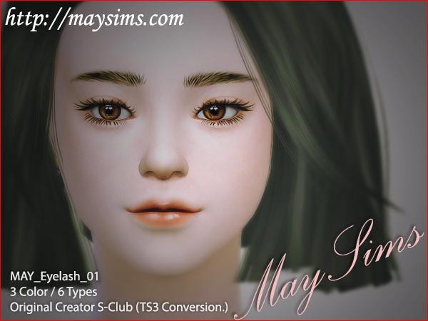 Eyelash 01 at May Sims image 15811 Sims 4 Updates