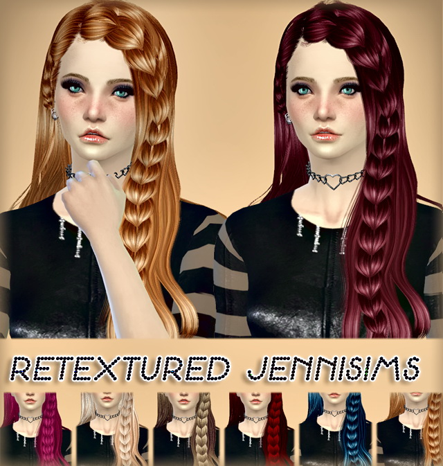 Sims 4 Newseas Gravitation and Melissa Hair retextures at Jenni Sims