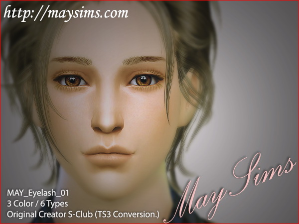 Eyelash 01 at May Sims image 15910 Sims 4 Updates