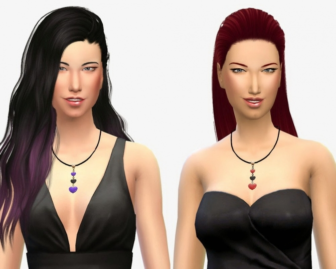 Sims 4 Valentines Day Necklace at 19 Sims 4 Blog