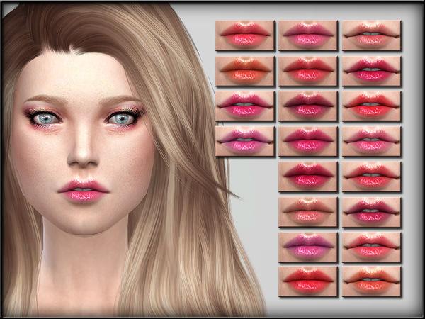 Sims 4 Lips Set 8 by ShojoAngel at TSR
