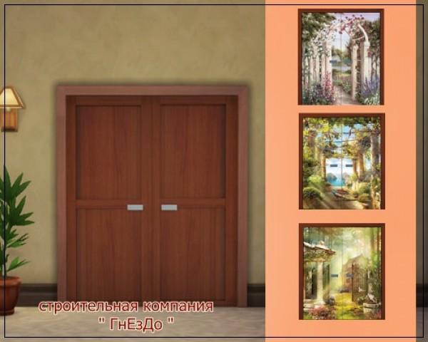 Romus Interior doors at Sims by Mulena image 16116 Sims 4 Updates