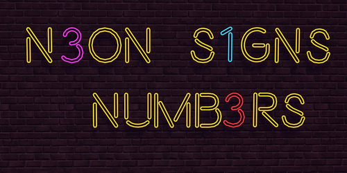 Numbers Neon Signs at NotEgain image 1619 Sims 4 Updates