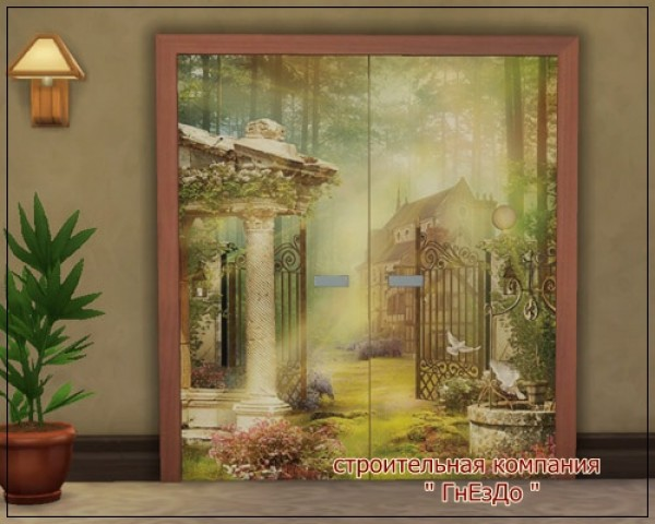 Romus Interior doors at Sims by Mulena image 16614 Sims 4 Updates