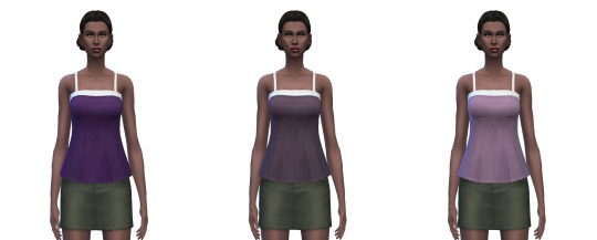 Camisole 25 solid colors at Busted Pixels image 1686 Sims 4 Updates