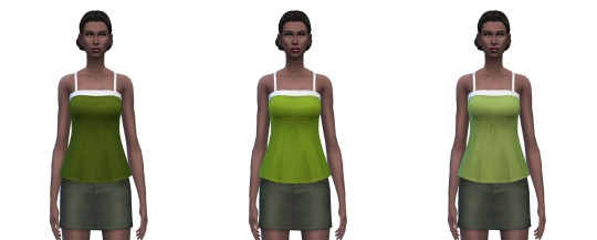 Camisole 25 solid colors at Busted Pixels image 1695 Sims 4 Updates