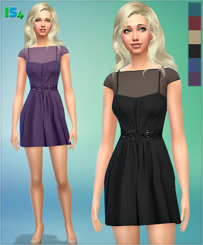 Sims 4 Dress 22 I at Irida Sims4