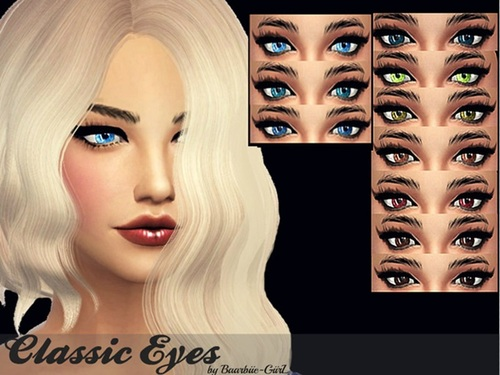 Sims 4 Classic Eyes at Barbies Stuff