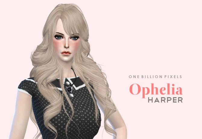 Ophelia Harper by NewOne at One Billion Pixels image 1785 Sims 4 Updates